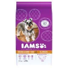 iams 3kg dog food all varieties £5.25 @ Tesco
