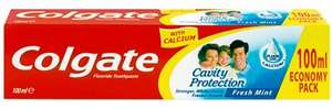 Colgate Cavity Protection Fresh Mint Fluoride Toothpaste (100ml) ONLY 79p @ Iceland