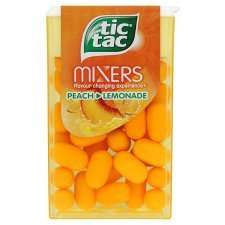 Tic tacs large packet peach and lemonade flavour 20p Sainsburys