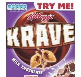 Kellogg's Krave - 1kg for £2.99 @ FarmFoods
