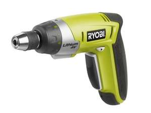 Ryobi 4v Lithium-Ion screwdriver complete with 30 piece accessory set in hard gripcase £35.99 @ Amazon.