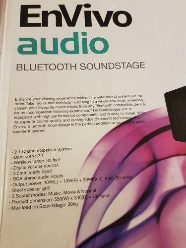 Envivo Bluetooth soundstage ALDI £19.99 Aylesbury