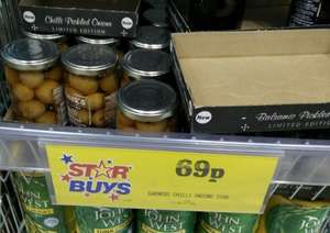 GARNERS Limited Edition Pickled Onions In Chilli Vinegar 310g £0.69 @ Home Bargains