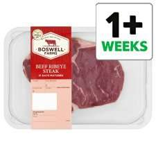 Rib-eye steak 195g £2.82 a pack @Tesco