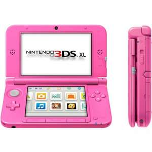 Nintendo 3DS XL Console Pink + New Style Boutique 2 - £99.99 @ Argos