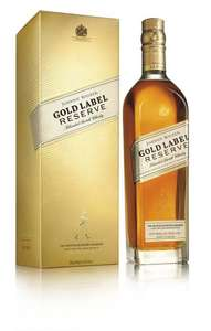 Johnnie Walker Gold Label Reserve Premium Blended Scotch Whisky 70 cl - £30 @ Amazon