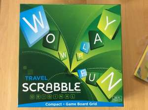 Travel Scrabble £8 at Sainsburys Wigan