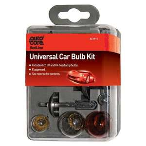 Autocare Universal Car Bulb Kit (contains 7 Bulbs) £2.50 @ Tesco