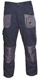 Blackrock Men's Long Leg Length Workman Trouser - Navy/Grey, 44 Inch £2.30 Add on item @ Amazon