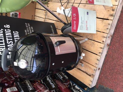 Weber Smokey Mountain Cooker 37cm £232.66 @ wyevale garden centres