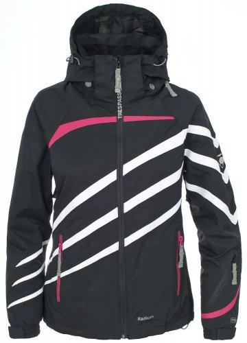 Trespass Women's Jeanie Ski Jacket in medium size black £13.06 (Prime) £17.81 (Non-Prime) @ Amazon