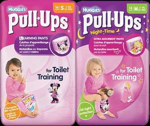 Huggies Pull Ups Carry Packs FREE @ Asda, Tesco & Morrisons