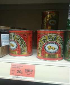 Lyle's Black Treacle - Sainsbury's (Instore) - £0.20 - 84% OFF!