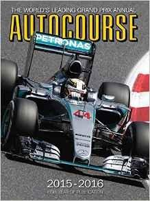 Autocourse 2015-2016 hardback review of the F1 season £12.05 delivered ( Amazon Prime )