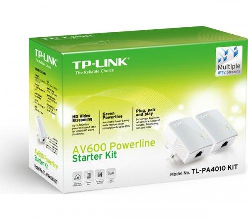 TP-LINK TL-PA4010KIT AV600 Powerline Adapter - Twin Pack  £19.99 @ Currys / PC World & Argos