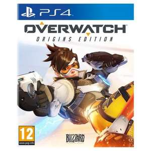 Overwatch PS4 playstation 4 (£32.00) @ Tesco Groceries