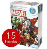 Marvel Readers Collection - 15 Book Slipcase + Star Wars Readers DK Collection - 15 Books +  3 Piece Ceramic Avengers or Star Wars Dinner Set £25.99  Del with code @ The Book People