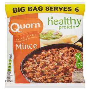 Quorn Mince (500g) was £2.79 now £1.50 @ Tesco