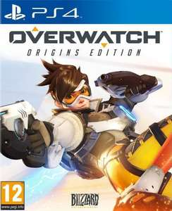Overwatch PS4 (unboxed) £26.48 @ Ebay / in2gadgets