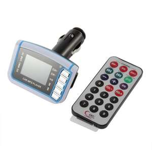 LCD Wireless FM Transmitter Car MP3 Player £1.91 @ Ali Express