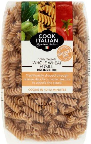 Cook Italian Bronze Whole Wheat Fusilli Pasta (500g) Half Price was £1.25 now 62p @ Tesco