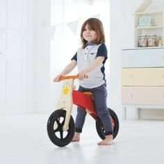 George Home Wooden Balance Bike (was £30) Now £17.50 C+C at Asda George