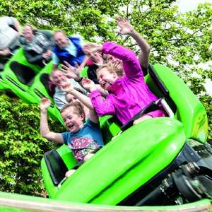 Drayton Manor Deal of the Day 2 Adults + 2 Kids (4-12) Drayton Manor Hotel Family Room, plus Breakfast and entry to theme park £158.40