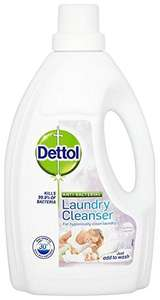Dettol Antibacterial Laundry Cleanser 1.5 L - Soothing Lavender(Pack of 4) £8.10 @ Amazon (Sub&Save + Voucher)