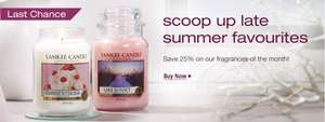 Yankee Candle large jars Season of Peace £10.99 @ Yankee Candles