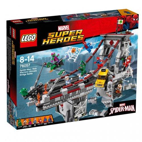 LEGO Marvel Super Heroes Spider-Man: Web Warriors Ultimate Bridge Battle 76057 £71.99 at Smyths Toys