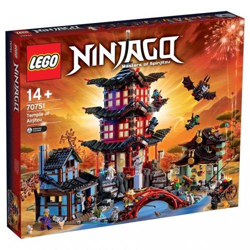 20% off LEGO Ninjago Temple of Airjitzu 70751 & LEGO DC Comics Super Heroes Batman Classic TV Series Batcave 76052