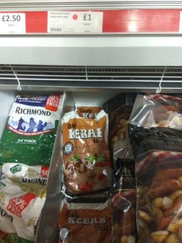 Doner kebab  meat  500g £1.00 @ Heron