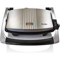 Breville VST025 Sandwich Press, Stainless Steel £19.50 prime / £24.25 non prime at Amazon