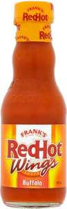 Frank's Red Hot Buffalo Wings Sauce (148ml) was £1.49 now 74p @ Waitrose