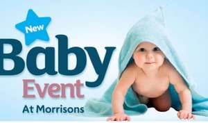 Morrison's baby event - Pampers baby dry - Jumbo - Reduced to £9 from £14 - Instore & online