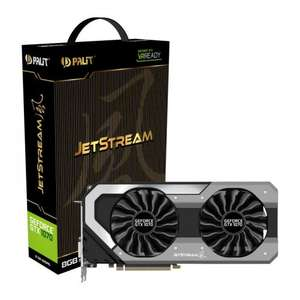 Palit Geforce GTX 1070 8GB Jetstream Graphics Card - £359.99 delivered from Scan.co.uk