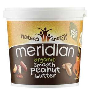Meridian Smooth Peanut Butter Big 1kg Tub £2.75 @ Tesco (Purley)