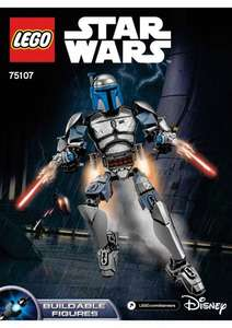 Lego Jango Fett 75107 buildable figure in Tesco stores for £7.50 + Others!