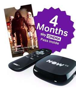 [From 24th August] NOW TV Box with 4 Month Cinema Pass or 6 Month Entertainment Pass £19.95 @ Argos & Amazon