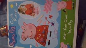 Make your own peppa pig 50p @ Morrisons Stoke on Trent
