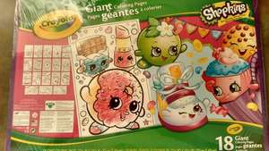 Shopkins Giant Colouring Book was £5 now £1 instore @ Tesco