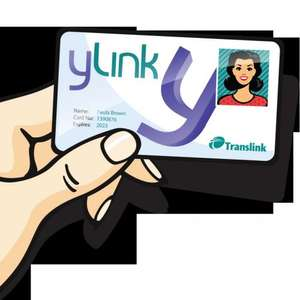 Free yLink Card -Translink Northern Ireland only