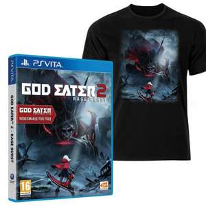 God Eater 2: Rage Burst (PS Vita) + God Eater: Resurrection + T-shirt + DLC - £24.99 @ Grainger Games
