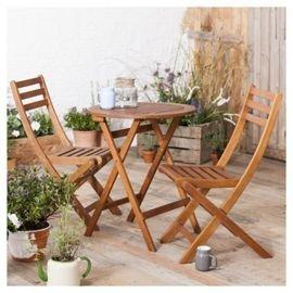 Garden Bistro Furniture Set 2 Seater - £33 Delivered @ Tesco