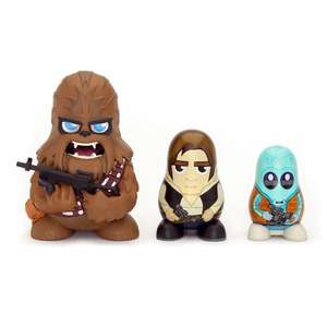 Star Wars Chubby Chewbacca/ Han Solo/ Greedo Mos Eisley Cantina Collectable Russian Figurines Set £5.74 Prime £9.73 Standard Del. @ Amazon