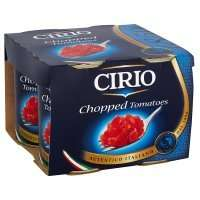 Cirio canned chopped tomatoes, 4 pack @ Waitrose £1.20 with PYO Offers