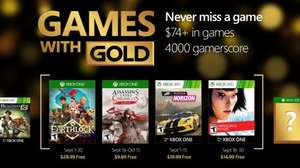 Xbox Live Games With Gold For September (Earthlock: Festival of Magic / Assassin's Creed Chronicles: China / Forza Horizon / Mirror's Edge)