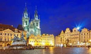 From London: 2 Nights/3 Days Prague City Centre Hotel Break £73.75pp @ Expedia