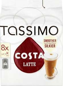 Tassimo Costa Latte £2.99 + Postage £5.99 (£8.98) @ ApprovedFood
