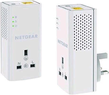 NETGEAR 1200 Mbps Powerline Adapter (Gigabit) - Twin Pack @ Amazon